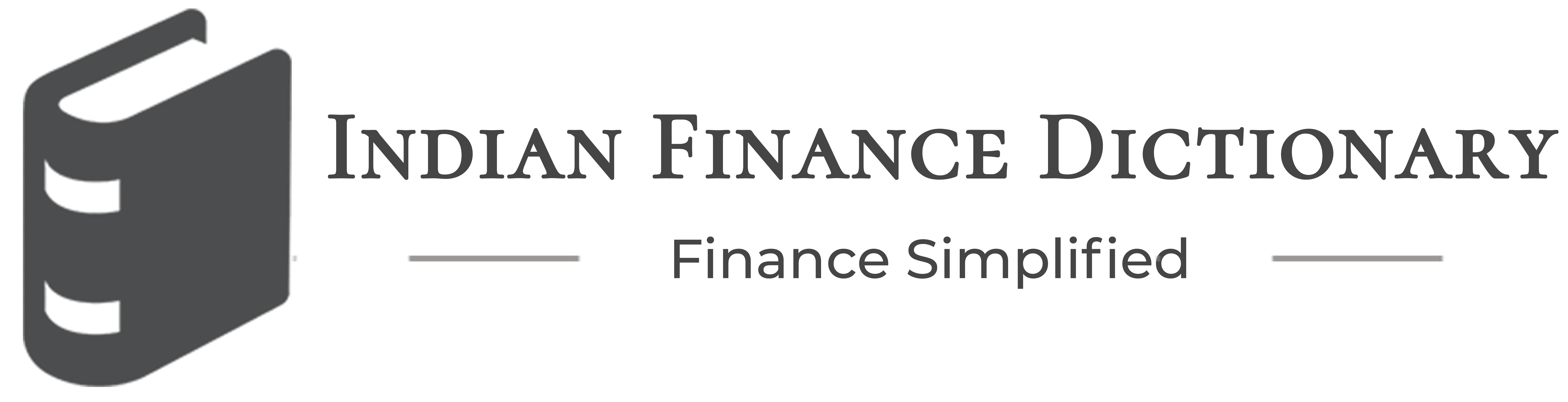 India's First Online Finance Dictionary