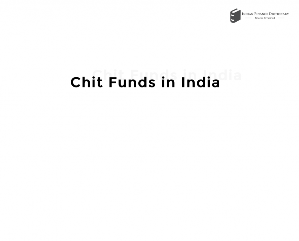 chit funds
