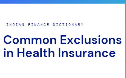 exclusions in health insurance
