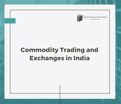 commodity trading exchanges
